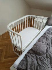 Babybay comfort weiss inkl Matratze