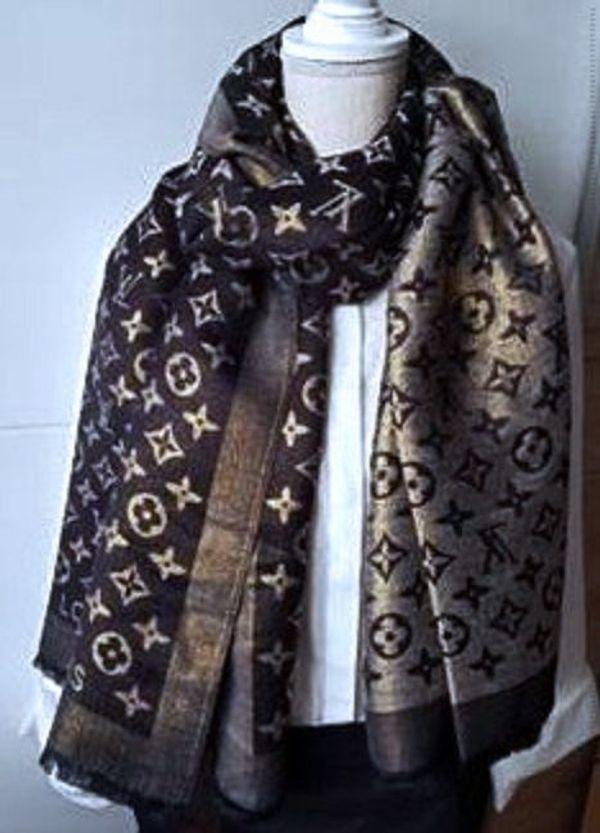 74a95e2b1d859 Louis Vuitton Schal 187x71cm in Bogen - Taschen