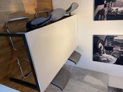 Bürotisch Esstisch mit 4 Stühlen