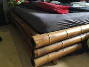 Bambus Bettumrandung