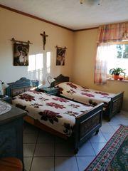 Voglauer Bauernschlafzimmer Anno 1800 grün