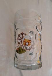 Oktoberfest Glaskrug Bierglas