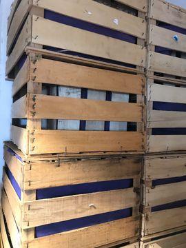 Bild 4 - Apfelkiste Holzkiste Füllmenge 20 kg - Stuttgart Feuerbach