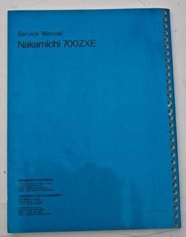 Tape-Deck, Walkman - Nakamichi 700 ZXE Audio Kassetten