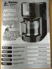 Kaffeemaschine - Kaffeeautomat - Barista deluxe
