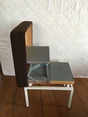 Treppenhocker Klapphocker Trittleiter Stufentritt Rarität