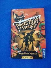 Buch Monstrum House Angriff der