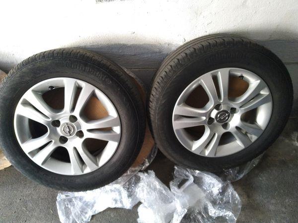 Opel Corsa d Alufelgen
