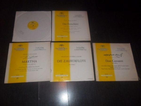 Schallplattensammlung 70 Stck Oper Operette