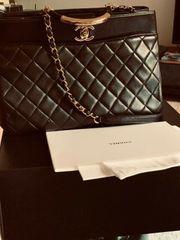 Original einmalige Chanel Tasche Shopper