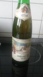 1971er deutsche WEISSWEINE