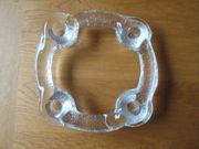 Adventskranzhalter aus Glas