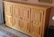 Vintage Massiv Holz Möbel Eiche