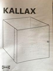 Neu Kallax Einsatz mit Tür