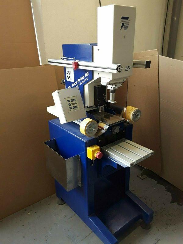 Tampondruckmaschine Teca Print TPU 131