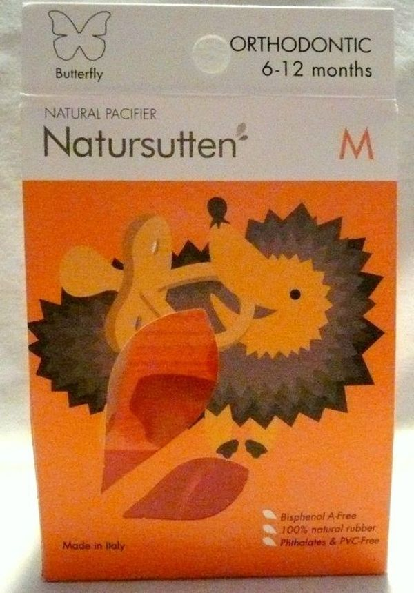 Natursutten Butterfly Orthodontic Gr M