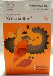 Natursutten Butterfly Orthodontic Gr M