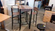 Bistro Tisch mit 2 Stühlen