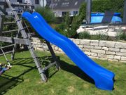 Kinderrutsche blau 3m