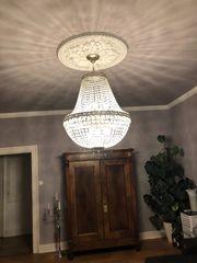 Riesiger Korblüster Kronleuchter Lampe Leuchte