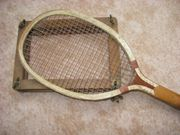 Tennisschläger ca 90 Jahre alt