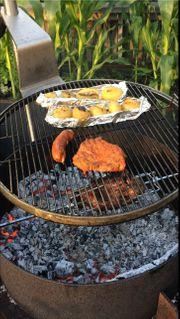 Grill- Feuerstelle mit Drehspieß Preishammer