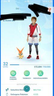 Pokemon Account Level 32 Sonderangebot