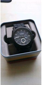 Fossil Herren Uhr - schwarz