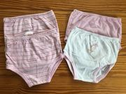 4x Unterhosen Baby Mädchen Set