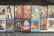 VHS Kassetten Sammlung