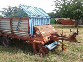 Traktoren, Landwirtschaftliche Fahrzeuge - Mengele LAW400 Tandem Ladewagen Anhänger