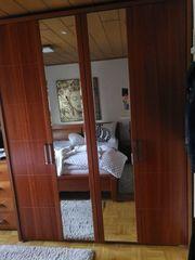 Rarität-Echtholz Kirschbaum Schlafzimmer