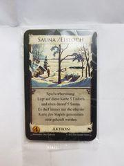 Dominion Promokarten Sauna Eisloch OVP