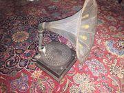 Antikes Grammophon
