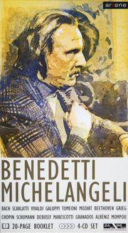 Benedetti Michelangeli-4 CD Set Booklett