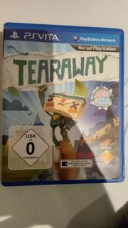Tearaway PS Vita PSP Playstation