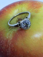 Art Deco Solitär Ring mit