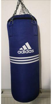 Verkaufe Adidas Boxsack-Set mit Handschuhen