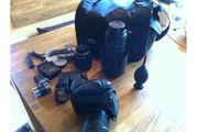 Komplette Profie Fotoausrüstung Pentax K20D