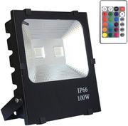 100W LED Außen Strahler RGB