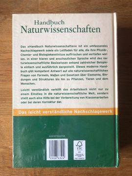 Schul- und Lehrbedarf - Handbuch Naturwissenschaften - Für Schule und