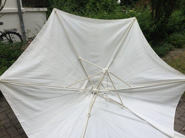 PREISSENKUNG: Großer runder Sonnenschirm für Balkon ...