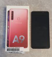 Samsung Galaxy A9 in Bubblegum