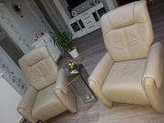 Relax Couch Set echter Leder