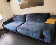 Blue Big Sofa