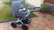 Emmaljunga Kinderwagen mit Sportwagenaufsatz - TOP
