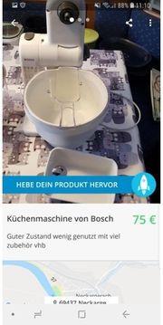 Küchenmaschine von Bosch sehr guter