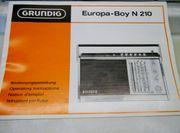 Vintage Retro GRUNDIG Europa Boy