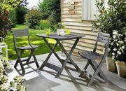 Balkon Set Gartentisch 2 Stühle