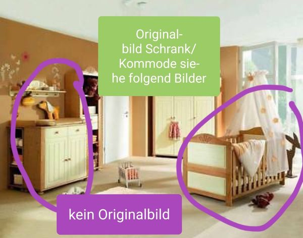Komplettes Baby Kinderzimmer Lina von